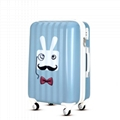 ABS PC trolley luggage