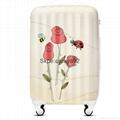 lightweight material hardshell suitcase