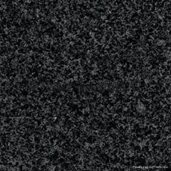 石材厂生产芝麻黑花岗岩