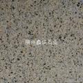 湖北芝麻白荔枝板打毛面石材不鏽鋼砂 3