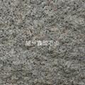 湖北芝麻白荔枝板打毛面石材不鏽鋼砂 4