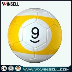 High quality size 3 4 5 poolball snook ball fotbal