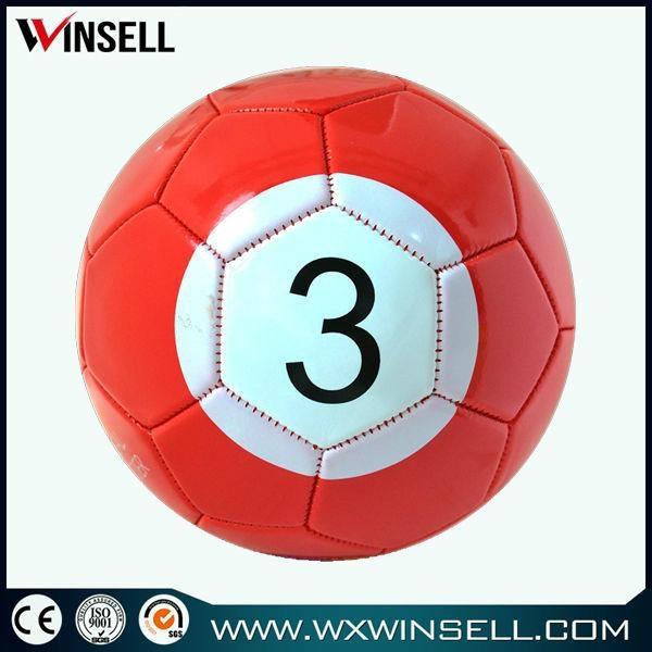 High quality size 3 4 5 poolball snook ball fotbal 2