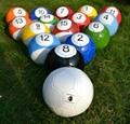 High quality size 3 4 5 poolball snook ball fotbal 4