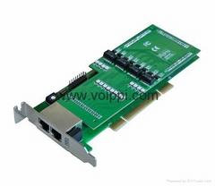 TE230P Dual Span Digium E1/T1 Card for VOIP PBX