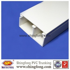 Extrusion Electrical PVC compartment Trunking
