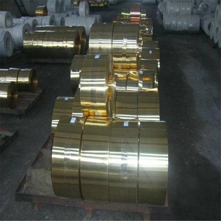 国标H62超薄黄铜带0.02mm厂家批发 2