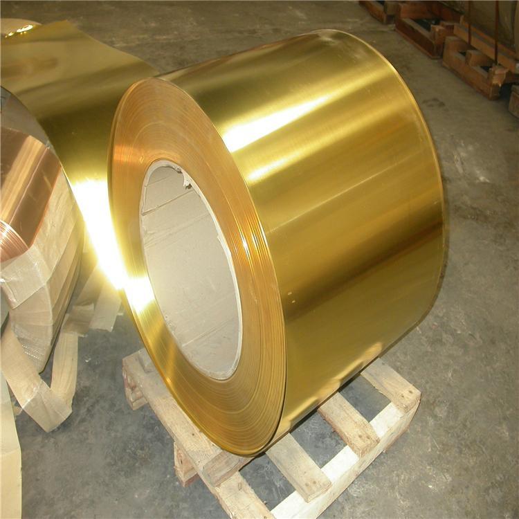 国标H62超薄黄铜带0.02mm厂家批发 3