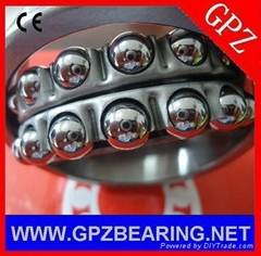 GPZ self-aligning ball bearings 1308 1308K(111308) 40* 90* 23 for bottom valve