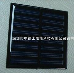 太阳能投光灯充电板