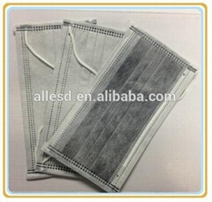 Industrial Protection Disposable Activated carbon Face Mask