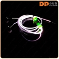 High quality color-changing glowing LED wired earphone with microphone 4