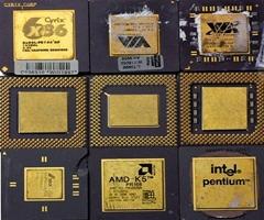 INTEL PENTIUM PROCESSOR CPU Pentium Pro CPU Ceramic Processor