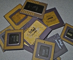 Intel Pentium Pro Ceramic CPU Processor Scrap