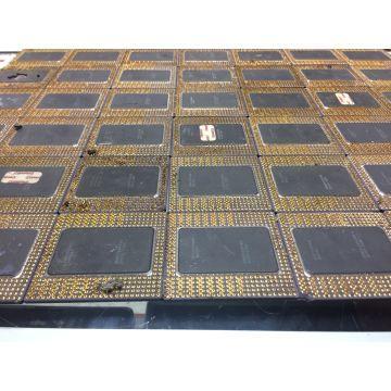 Ceramic CPU Gold Scraps Intel 386 486   1