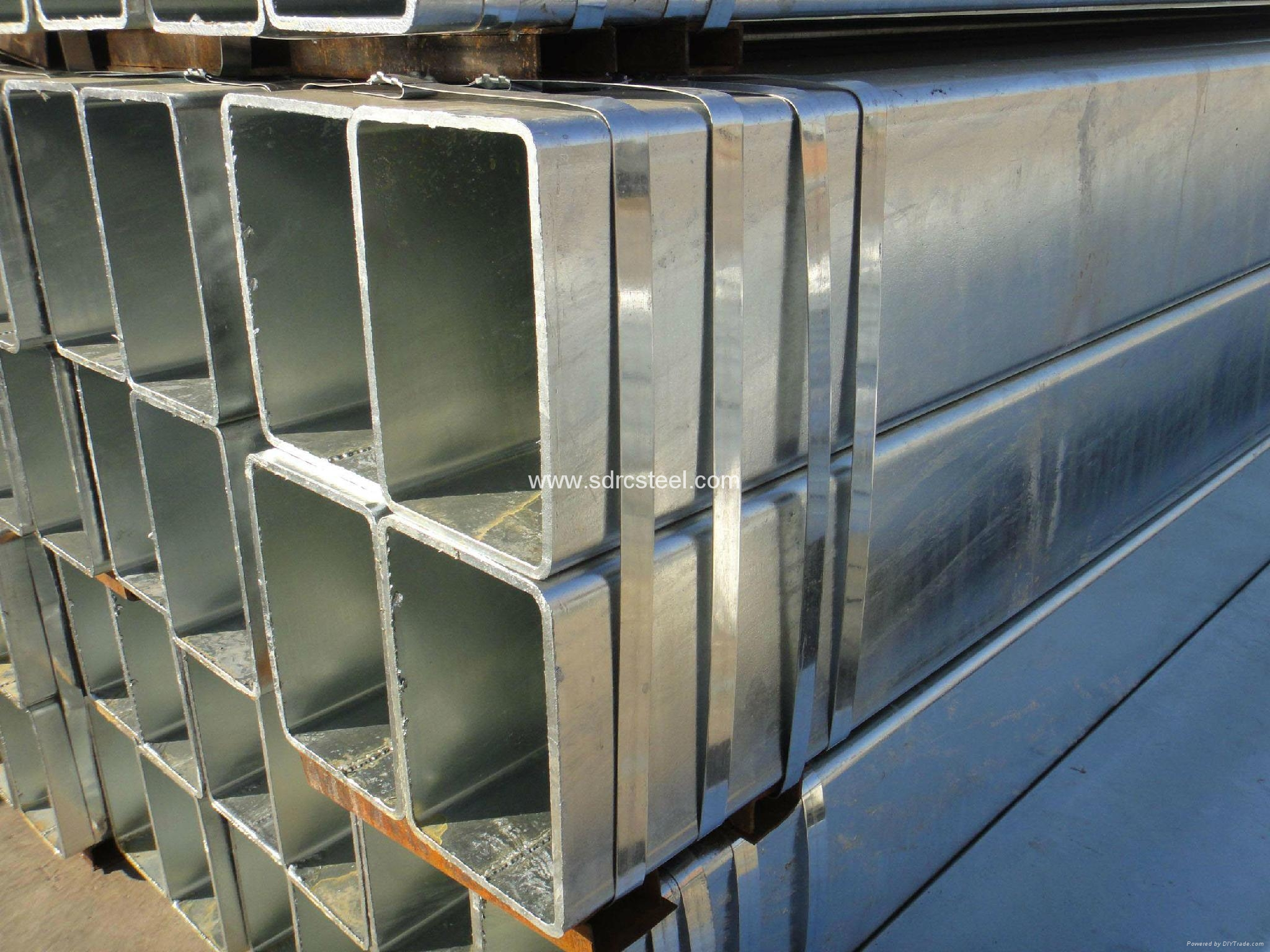 Carbon Hot Dip Galvanized Square Steel Pipe 20mm 20mm