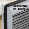 【廠家直銷】除PM2.5 車載淨化器過濾網器高效HEPA過濾網 定製 1