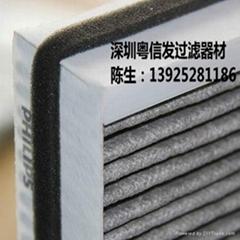 【厂家直销】除PM2.5 车载净化器过滤网器高效HEPA过滤网 定制
