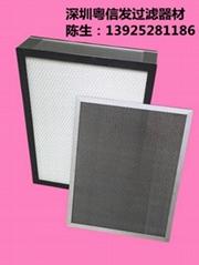 尺寸可定制空气净化器 高效过滤网 活性炭HEPA光触媒滤网
