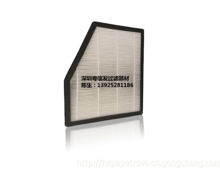 廠家直銷 車載淨化機用活性炭空氣過濾器 粵信發過濾器材 2