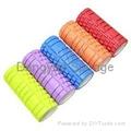 Colorful Hollow Healthy ways Massage body Foam Pilates Yoga column yoga pads