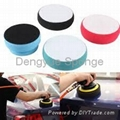 Widely used in Cars Direct factory Very soft custom size polish applicator pads  4