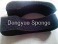 high quality polyurethane High density refrigerator antibacterial filter sponge