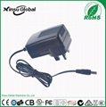 UL cUL FCC approval US plug 8.4V 1A li-ion battery charger 4