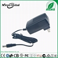 12V 1A lead-acid battery charger with UL