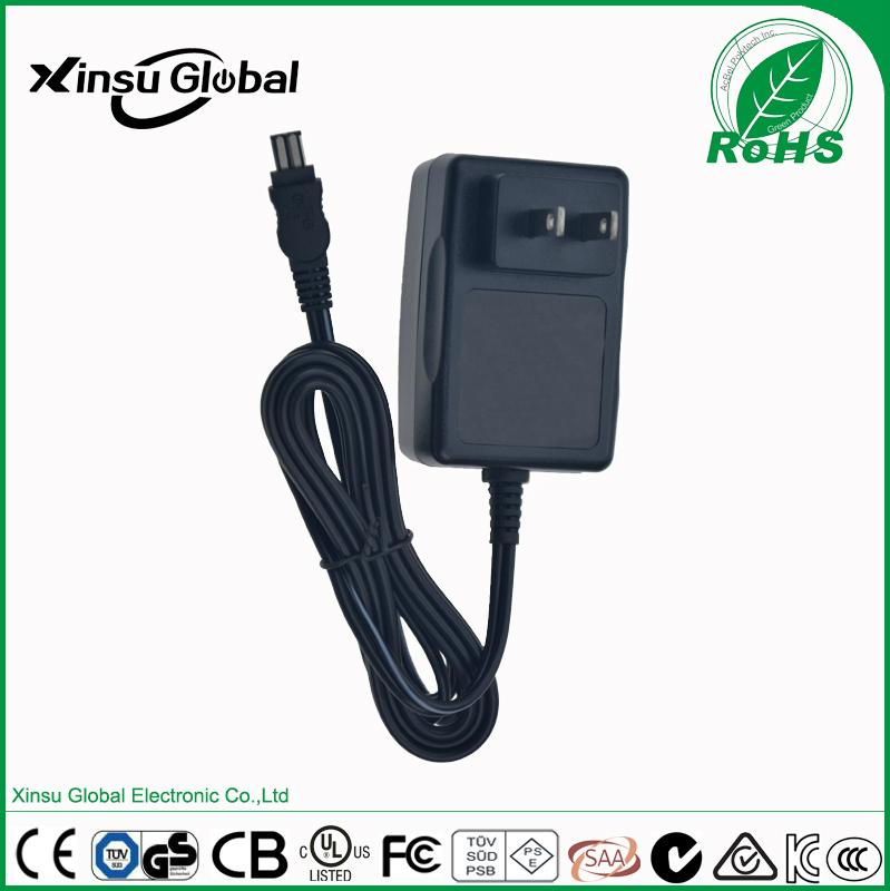 12V 1A lead-acid battery charger with UL cUL FCC certifications 2