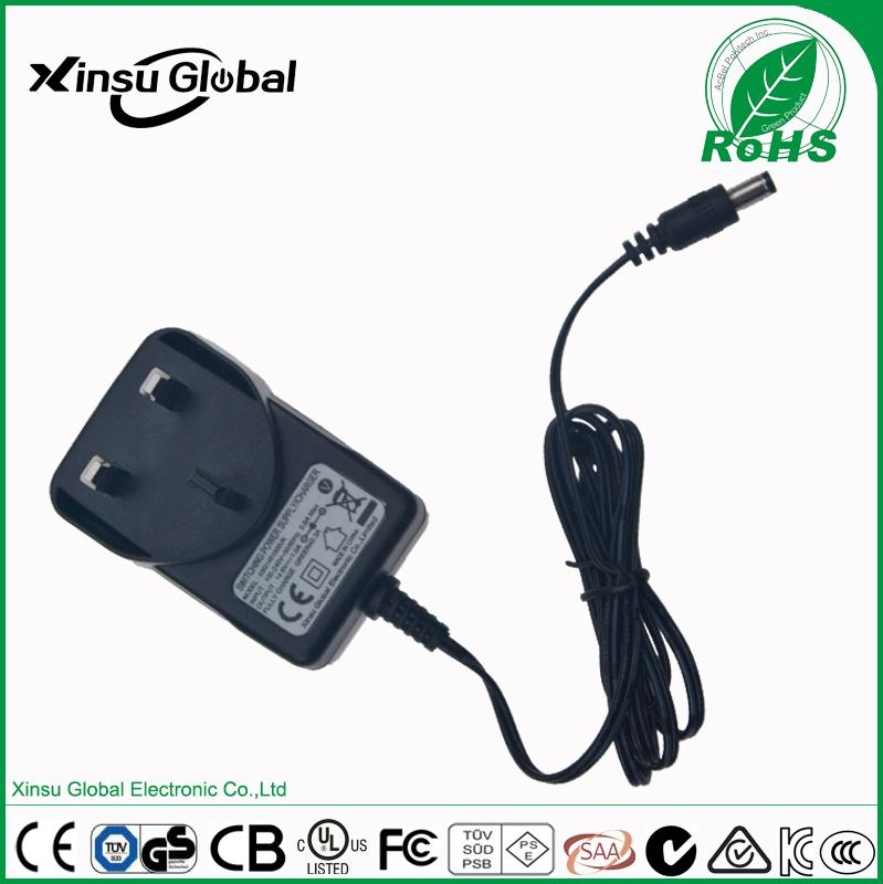 12V 1A lead-acid battery charger with UL cUL FCC certifications 3
