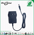 12V 1A lead-acid battery charger with UL cUL FCC certifications 5