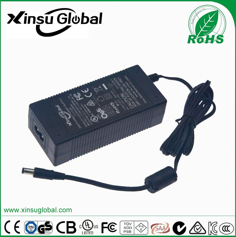 CE TUV/GS listed 29.4V 2A lithium battery charger for 7 cell li-ion battery 4