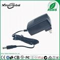 UL cUL FCC approval US plug 8.4V 1A li-ion battery charger 2