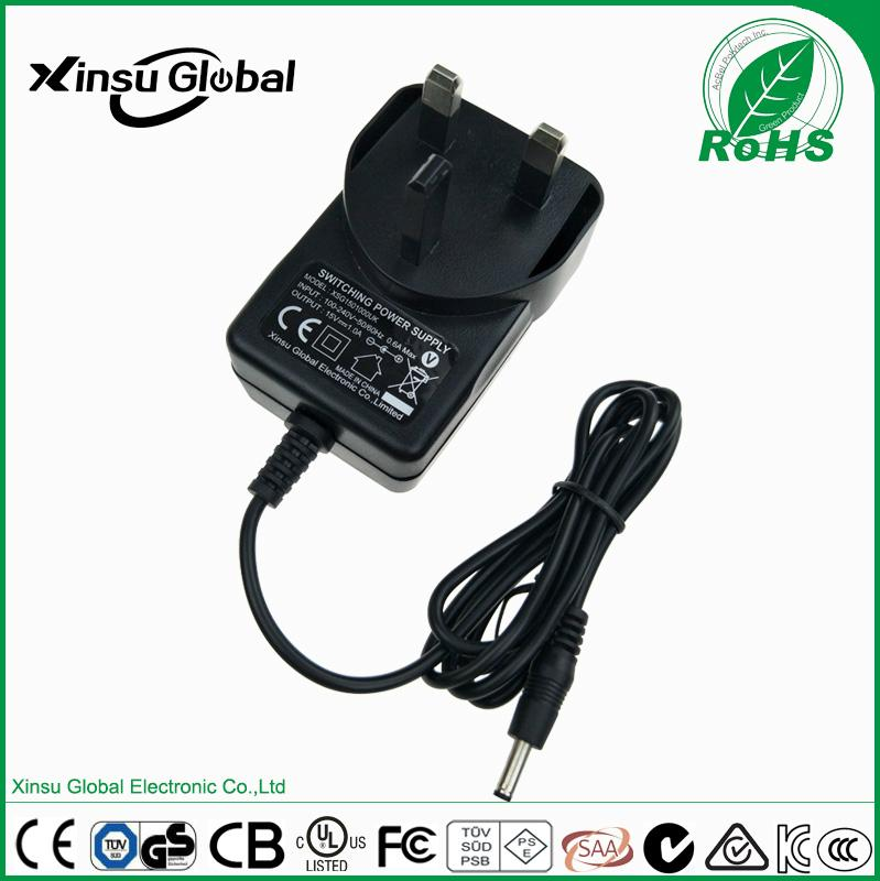 CE GS listed 14.6V 1A Ni-MH battery charger for 12V Ni-MH battery 1