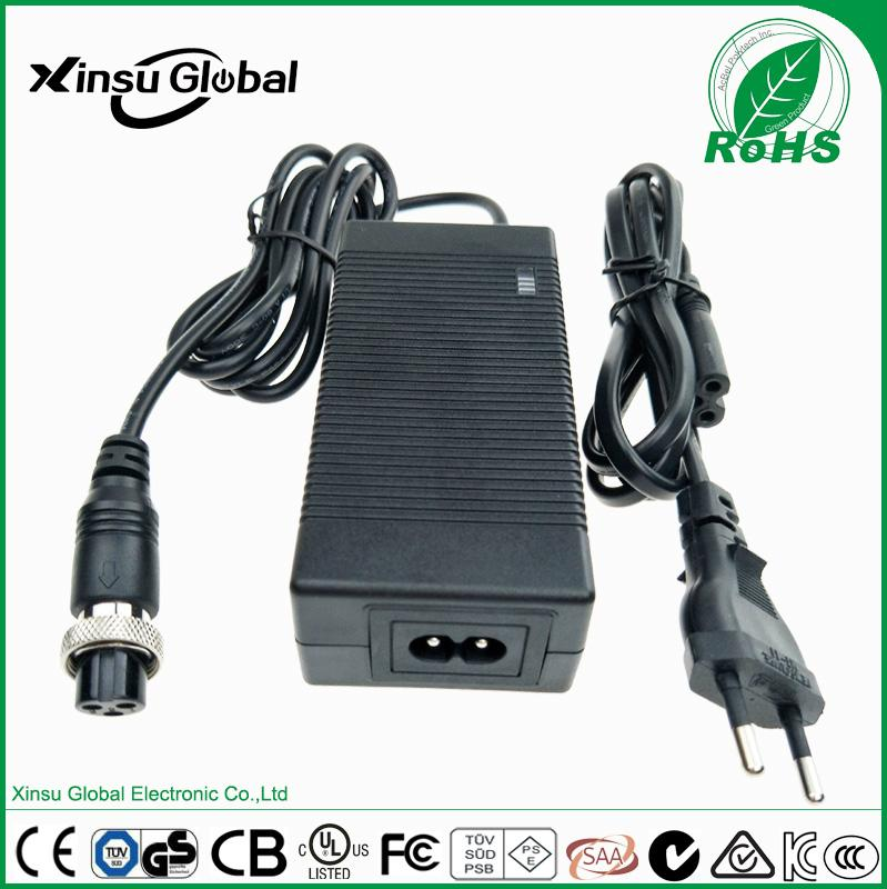 CC~CV charging mode 29.2V 2A LiFePO4 battery charger for electric motorcycle 1