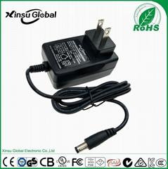 UL cUL FCC approval US plug 8.4V 1A li-ion battery charger
