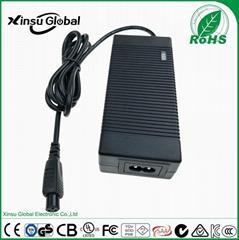 CE UL FCC SAA listed 42V 1.5A Li ion Battery Charger for Balance Car