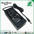 DOE Level VI 24V 2.5A Power Adapter with UL FCC ROHS