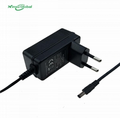 UL FCC listed 15V 1A Power Adapter with UL60950