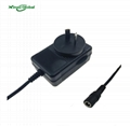 China factory direct sale 8.4v 2a lithium battery charger with EU UK AU US plugs 4