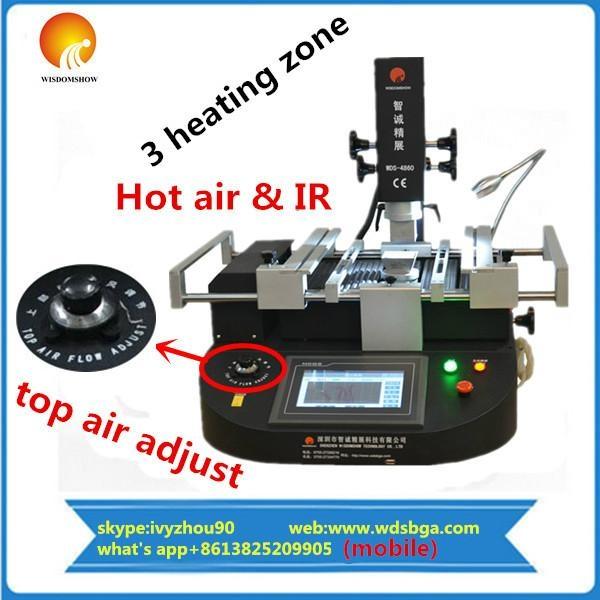 hot air used bga rework station  1