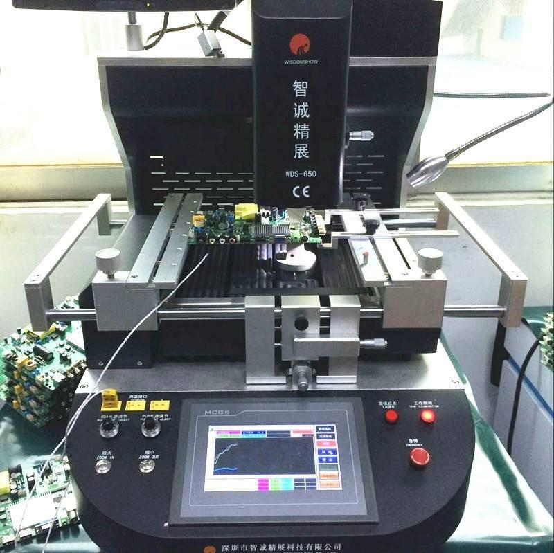 Original Factory Semi-Auto Alignment System BGA Rework Station WDS-650 HOT SELL 1