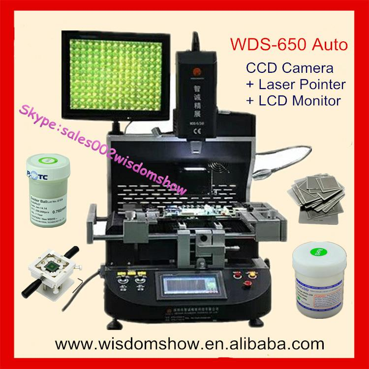 Gear Drive control ecu motherboard rework station WDS-650 With free training  1