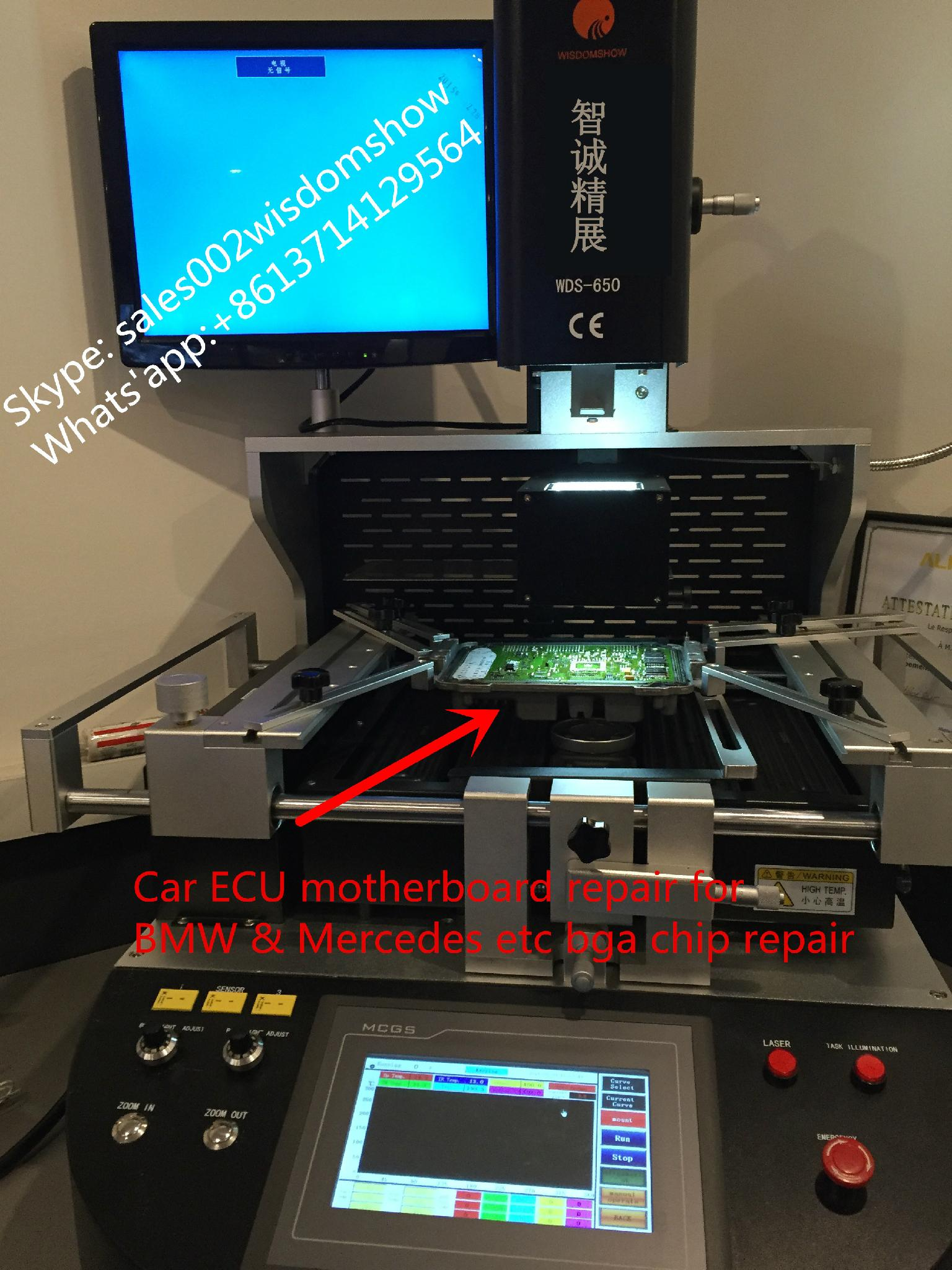 Gear Drive control ecu motherboard rework station WDS-650 With free training  5