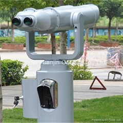25x100 High powered telescopes,coin operated telescope price