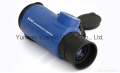 Monocular binoculars 8X42,BAK4 outdoor scopes waterproof telescope