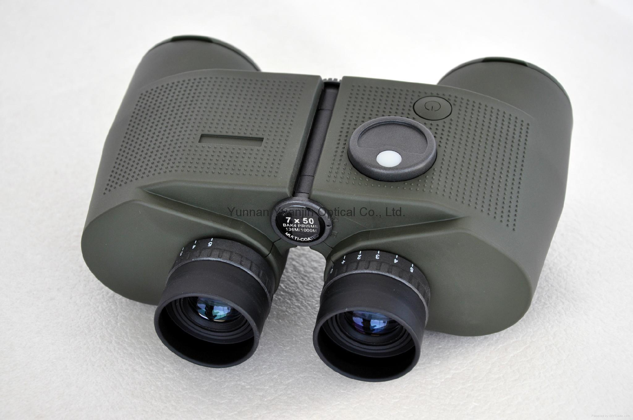 遠錦戰鷹7X50高清望遠鏡帶羅盤視野很開闊 5