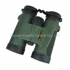 small portable handheld waterproof binoculars 8x32 for outdoor sightseeing