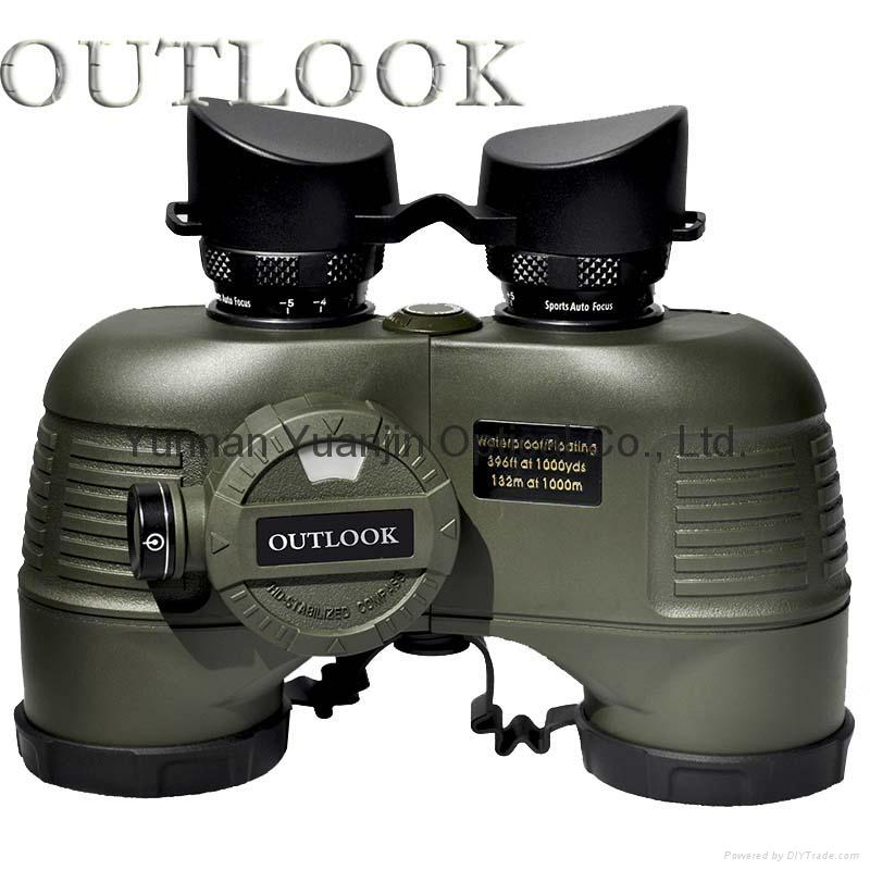 military grade marine binoculars 7x50 with comass waterproof